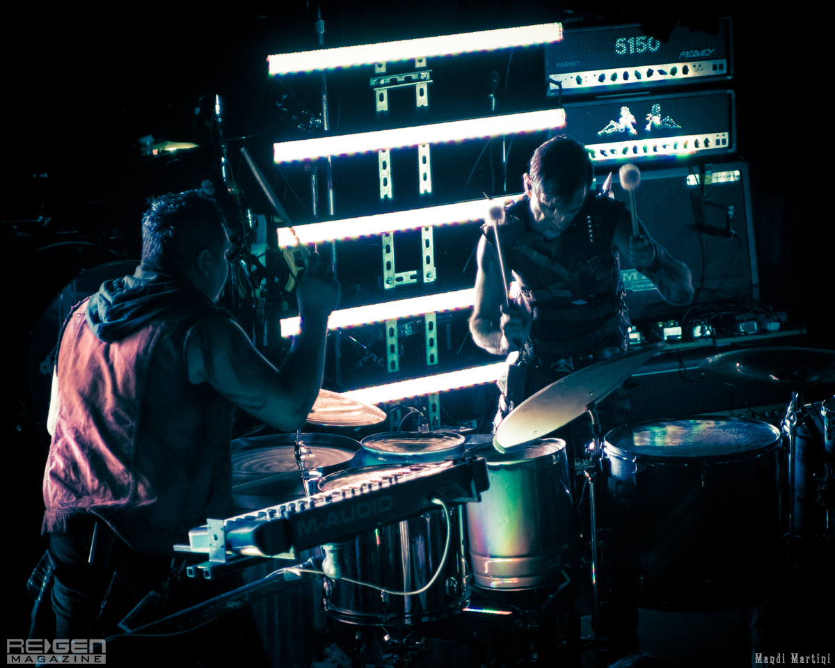 CHANT Live Is High Energy, Raw, And Intense U2013 A Drum Pounding Apocalyptic  Rock Show With Plenty Of Four On The Floor Beats To Move Tou2026 And We Do ...