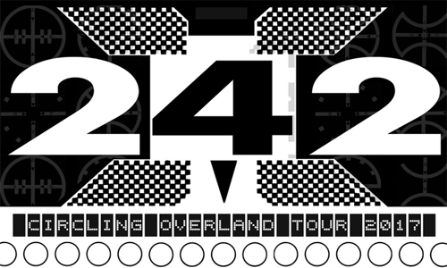 Front 242 - Circling Overland Tour 2017