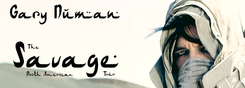 Gary Numan - Savage, North American Tour