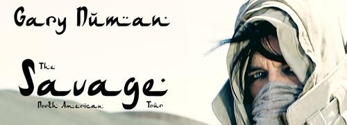 Gary Numan - Savage, North American Tour