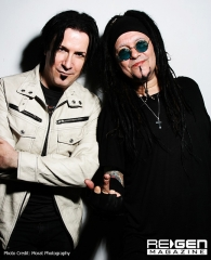 Mark Gemini Thwaite & Al Jourgensen