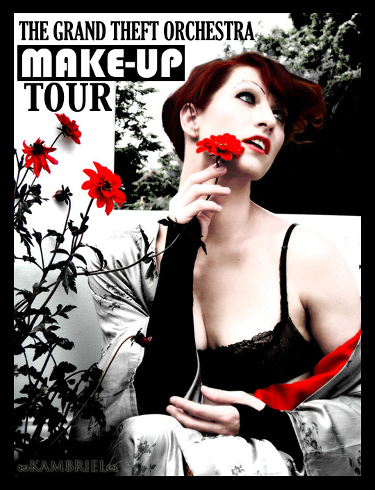 Amanda Palmer Make-Up Tour 2013