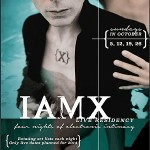 IAMX announces exclusive October performances