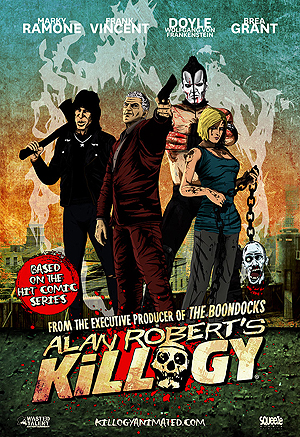 Life of Agony songwriter unveils new animated comedy featuring ex members of The Ramones and The Misfits
