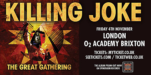 Killing Joke announces special London show