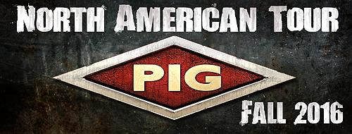 PIG Fall 2016 Tour