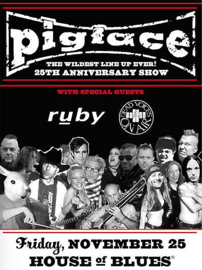 Pigface announces Black Friday reunuion show