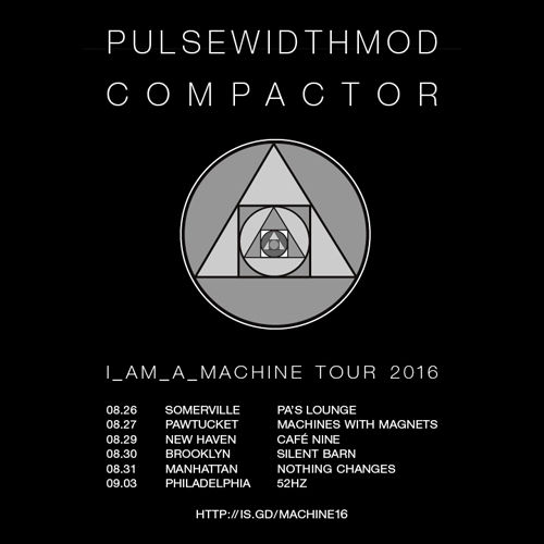 Compactor to join final six dates of PulseWidthMod 2016 tour