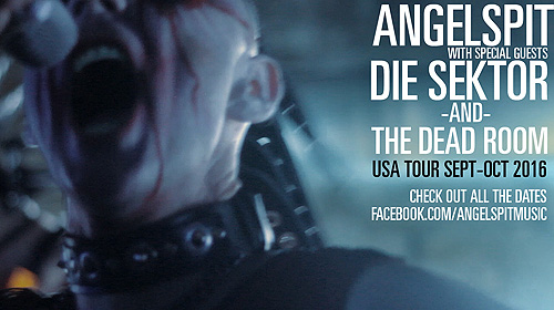 Angelspit releases new music video to kick off USA tour