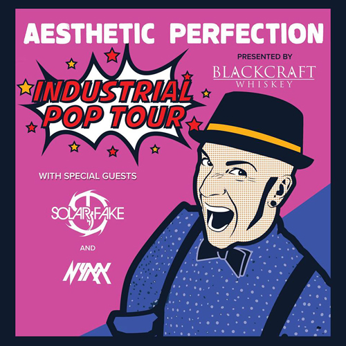 Aesthetic Perfection - Industrial Pop Tour: North American Tour 2017