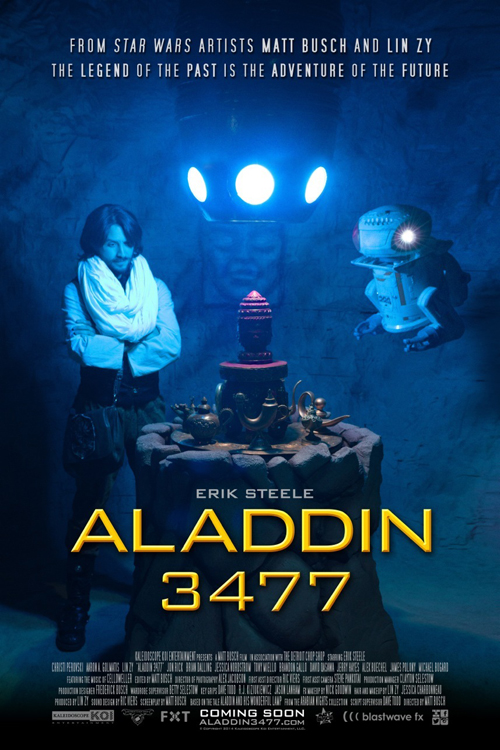 Aladdin 3477 Poster
