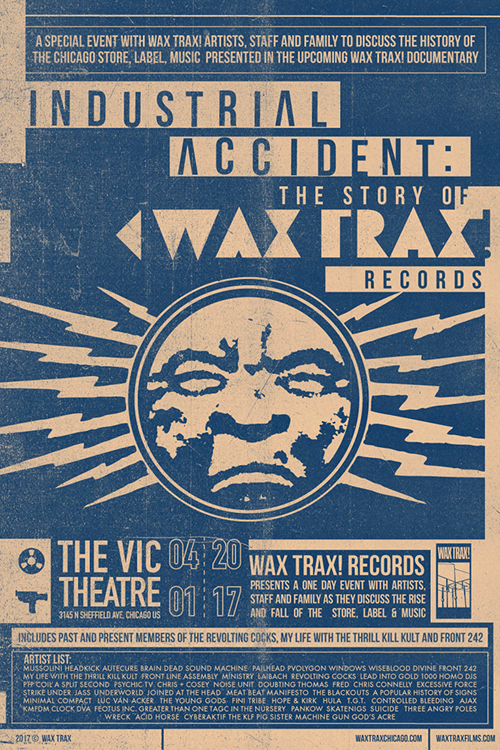 Industrial Accident: The Story of WaxTrax! Records