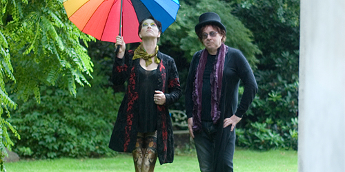 Amanda Palmer and Edward Ka-Spel premiere first music video from upcoming album