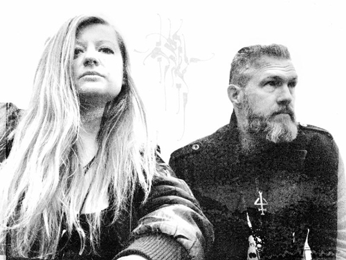 Duo of Henrik Nordvargr Björkk and Margaux Renaudin adopt new name, announce second album