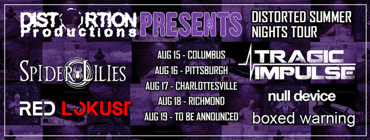 Distorted Productions announces summer mini-tour