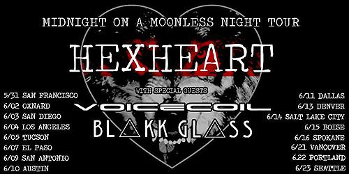 Hexheart - Midnight on a Moonless Night Tour 2017