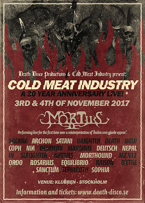 Cold Meat Industry - 30th Anniversary Live