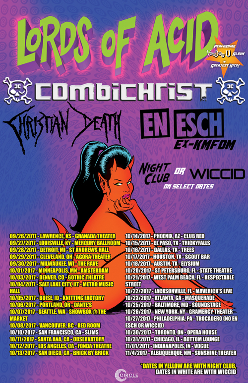 Lords of Acid 2017 Tour