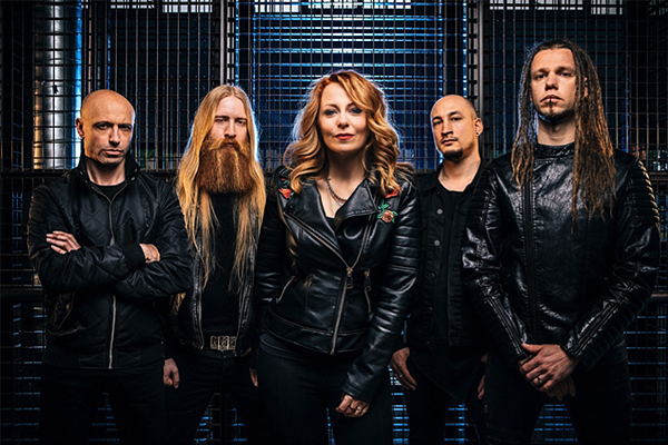 Anneke van Giersbergen's band VUUR releases single, launches album contest, announces tour dates