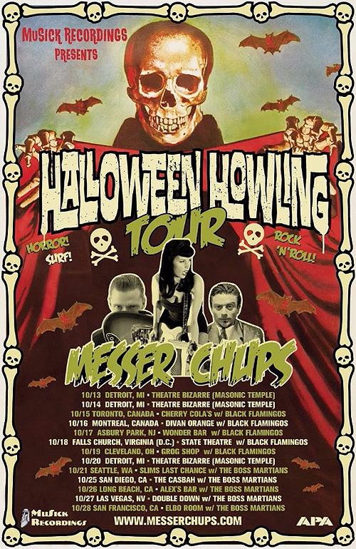 Messer Chups - Halloween Howling Tour 2017