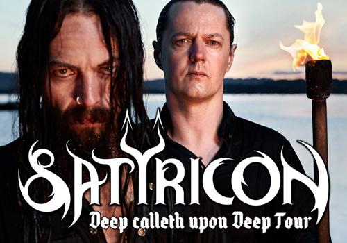 Satyricon announces final tour headlining the U.S.
