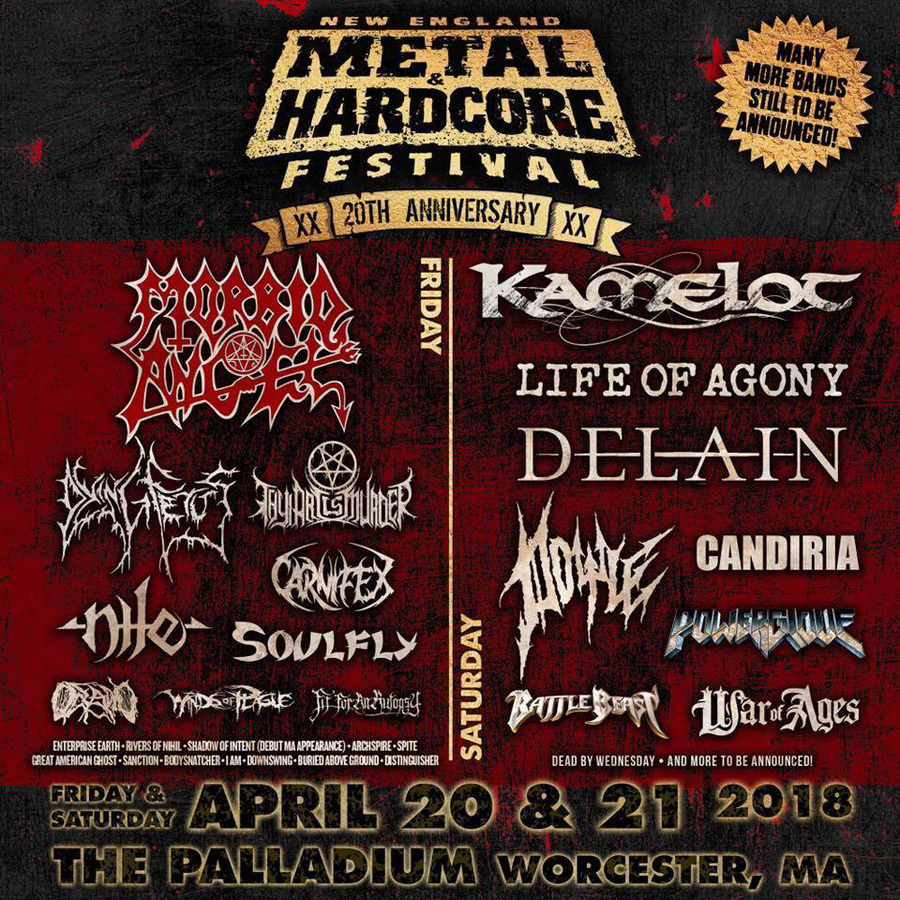 20th New England Metal & Hardcore Festival