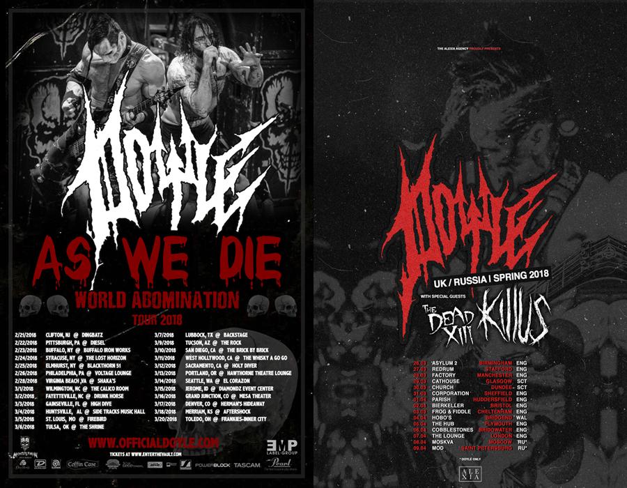 DOYLE - World Abomination Tour 2018