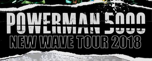 Powerman 5000 announces second leg of U.S. New Wave tour