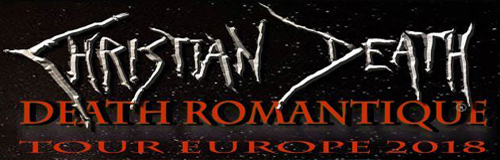 Christian Death announces European tour