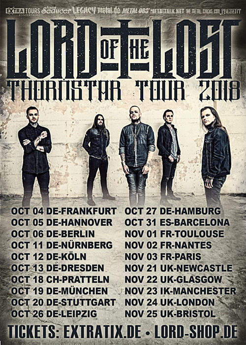 Lord of the Lost - Thornstar European Tour 2018