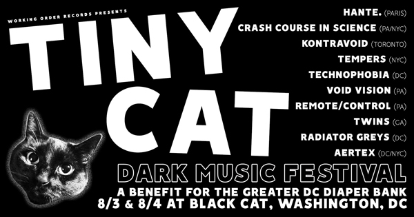 Working Order Records announces charity dark music event in DC