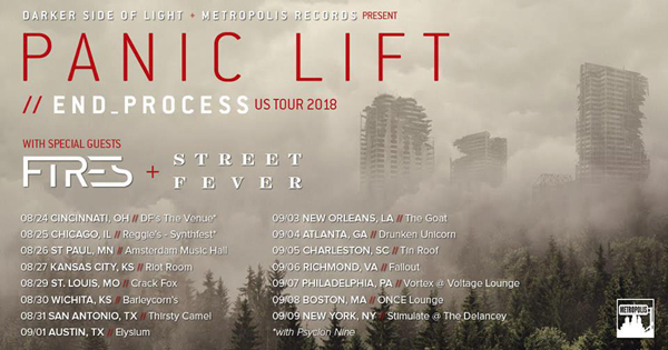 Panic Lift announces late summer tour with FIRES