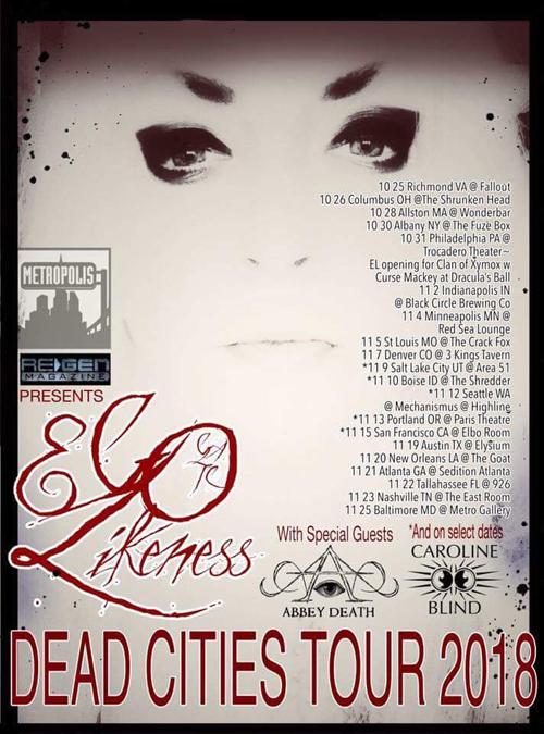 ReGen Magazine named co-sponsor of Ego Likeness U.S. tour