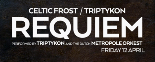 Triptykon to perform full orchestral rendition of Celtic Frost Requiem at Roadburn Festival 2019
