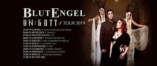 BlutEngel - Un:Gott Tour 2019