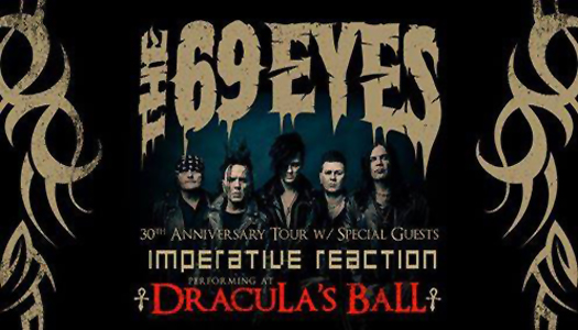 Dracula's Ball returns in May with The 69 Eyes and Imperative Reaction