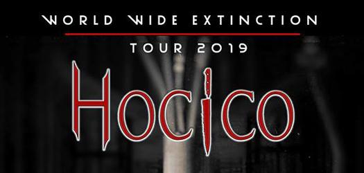 Hocico announces dates for World Wide Extinction Tour 2019