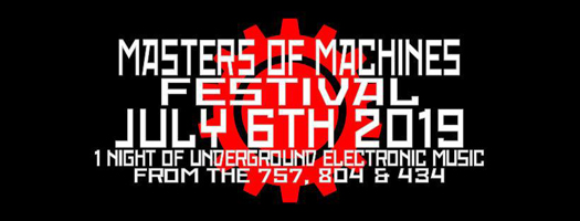 Masters of Machines Festival announced, showcasing the best of the Virginia underground music scene