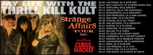 My Life with the Thrill Kill Kult - Strange Affairs Tour