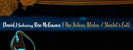 David J announces new single featuring Rose McGowan